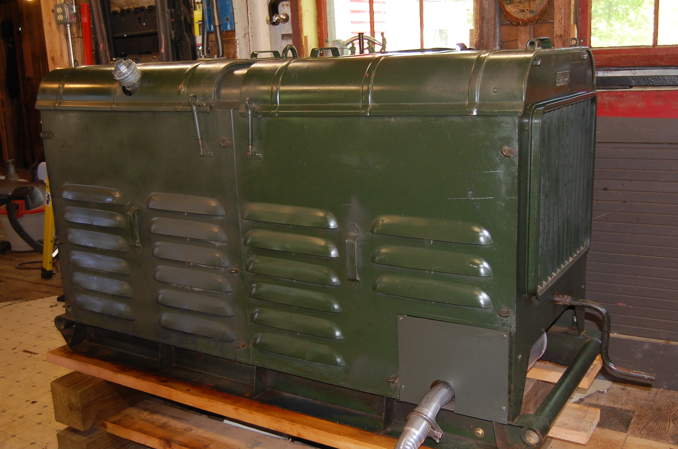 Willys Jeep Truck For Sale >> WWII MILITARY GENERATOR 1944 WILLYS