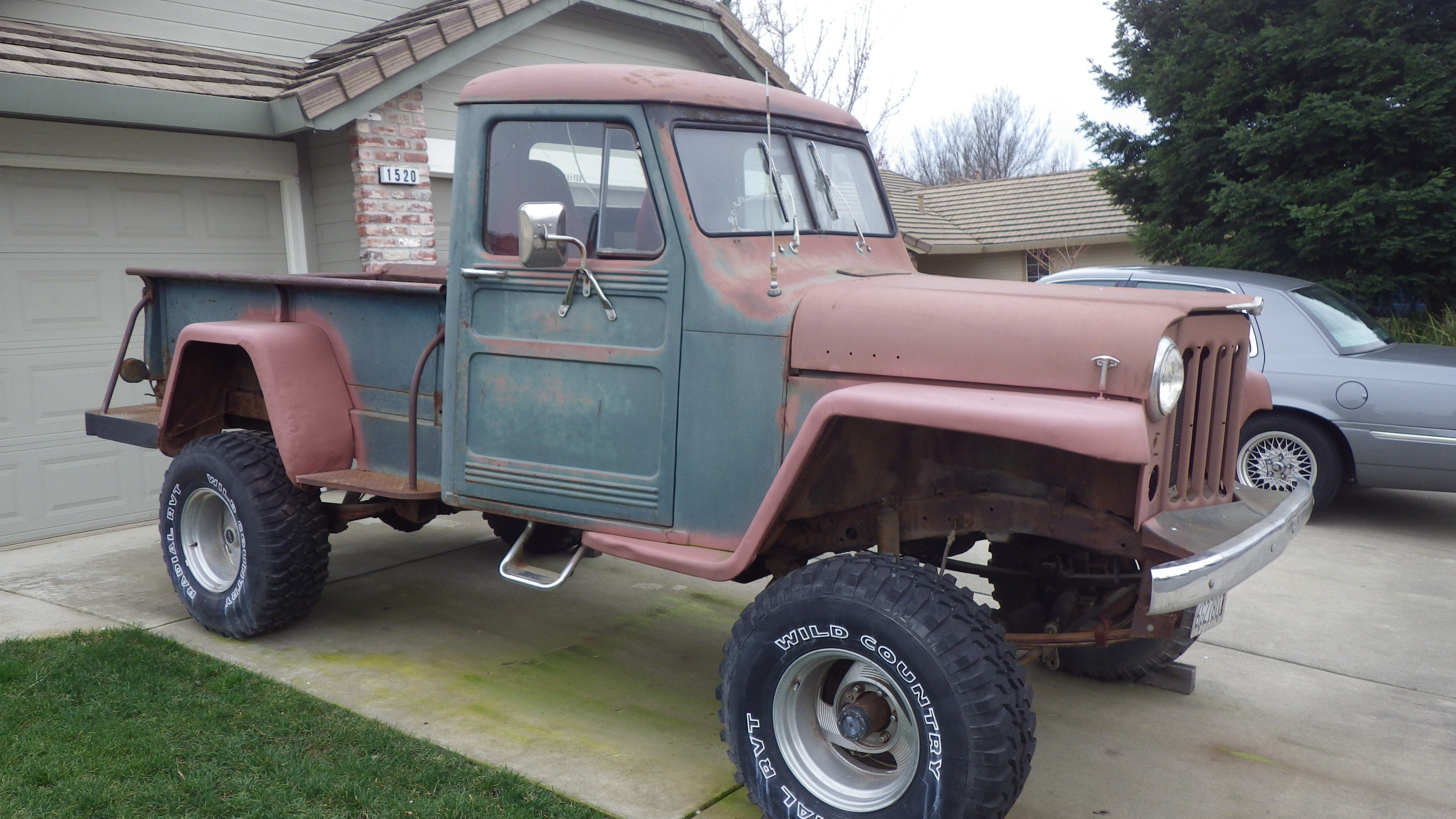 1950 Willys Pick Up Jeep Pickup Truck
