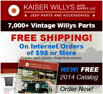 2014 Kaiser Willys Jeep Catalog