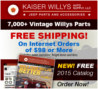 2015 Kaiser Willys Jeep Catalog