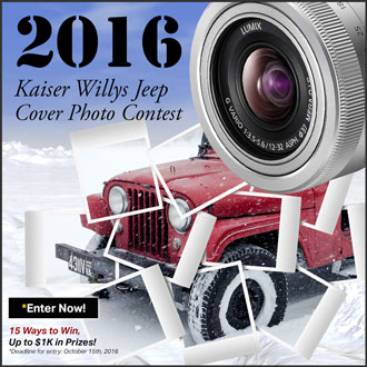2016 Willys Photo Contest