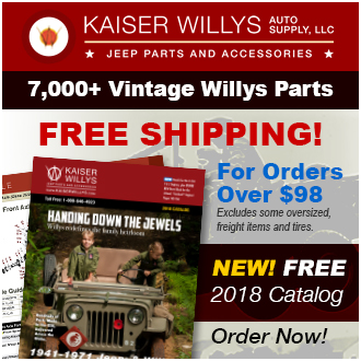 2018 Kaiser Willys Jeep Catalog