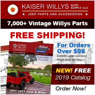 2019 Kaiser Willys Jeep Catalog