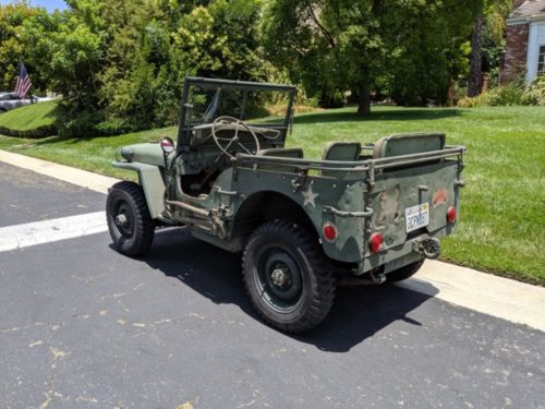 Willys 43 Left Rear