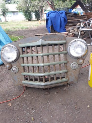 49 willys front grill